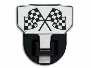 Carr HD Hitch Step w/ Checkered Flag Logo (87-19 Jeep Wrangler YJ, TJ, JK & JL)