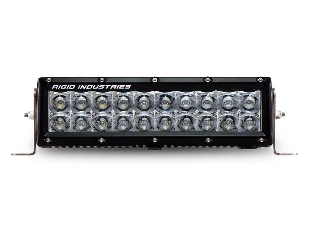 Rigid Industries 10 in. E-Series LED Light Bar - Spot Beam