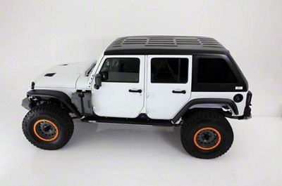 American Fastback Freedom Fastback Hard Top - Primer (07-18 Jeep Wrangler JK 4 Door)