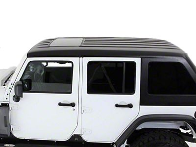 American Fastback Fastback Single Sunroof Hard Top - Primer (07-18 Jeep Wrangler JK 4 Door)