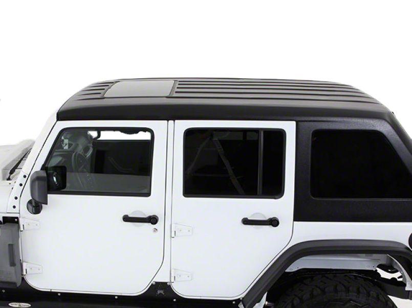 American Fastback Fastback Single Sunroof Hard Top - Primer (07-18 Jeep Wrangler JK 4 Door)