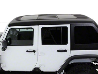 American Fastback Fastback Double Sunroof Hard Top - Primer (07-18 Jeep Wrangler JK 4 Door)