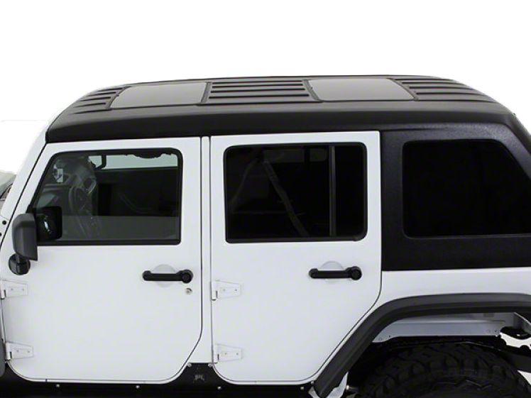American Fastback Fastback Double Sunroof Hard Top - Primer (07-18 Jeep Wrangler JK 4 Door)