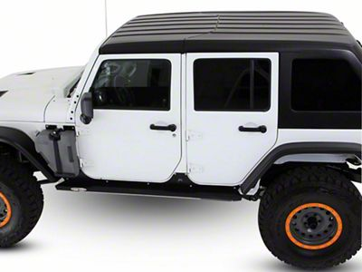 American Fastback Targa Hard Top - Primer (07-18 Jeep Wrangler JK 4 Door)
