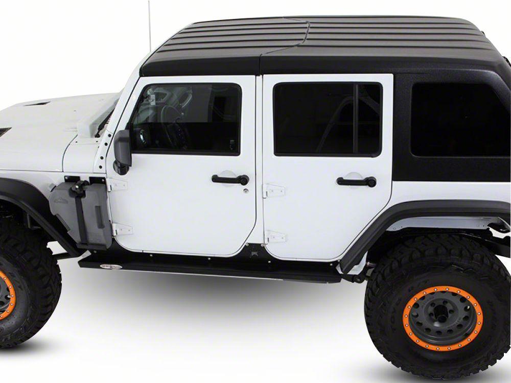American Fastback Targa Hard Top - Primer (07-18 Jeep Wrangler JK 4 Door)