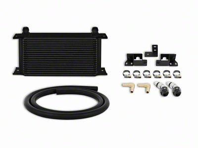 Mishimoto Transmission Cooler Kit - Black (07-11 3.8L Jeep Wrangler JK)