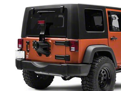 Zone Offroad Spare Tire Relocation Kit (07-18 Jeep Wrangler JK)