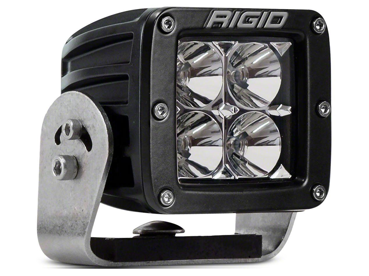 Rigid Industries D-Series HD LED Cube Light - Flood Beam
