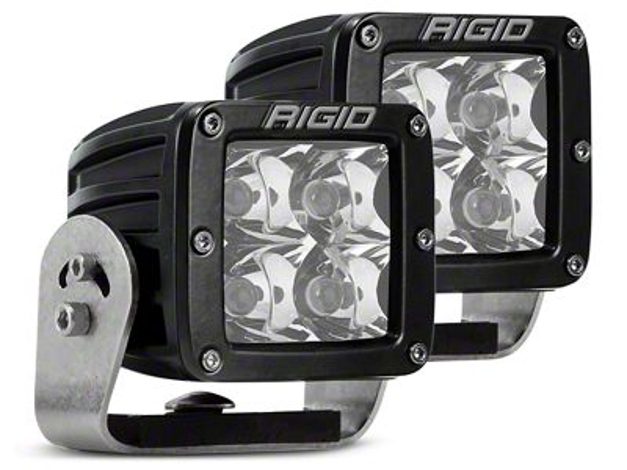 Rigid Industries D-Series HD LED Cube Lights - Spot Beam - Pair