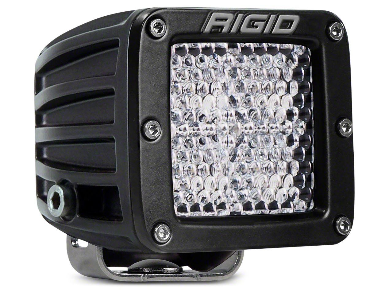 Rigid Industries D-Series LED Cube Light - 60 Deg. Diffused Beam
