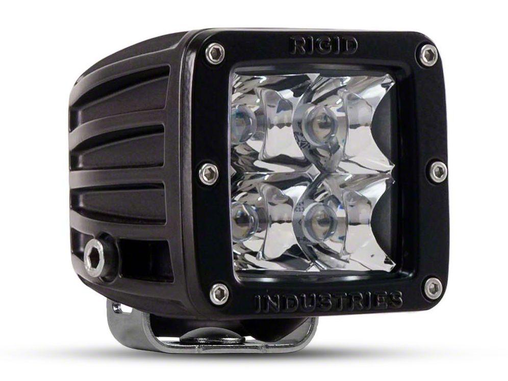 Rigid Industries D-Series LED Cube Lights - Flood Beam - Pair