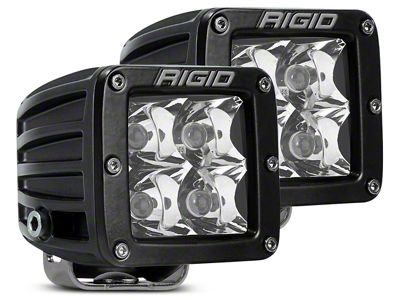 Rigid Industries D-Series LED Cube Lights - Spot Beam - Pair
