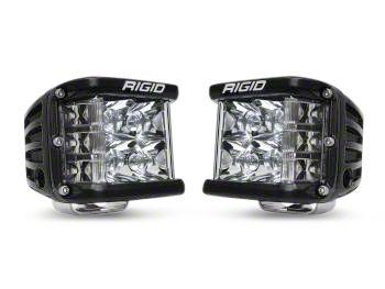 Rigid Industries D-SS Side Shooter LED Cube Lights - Spot Beam - Pair