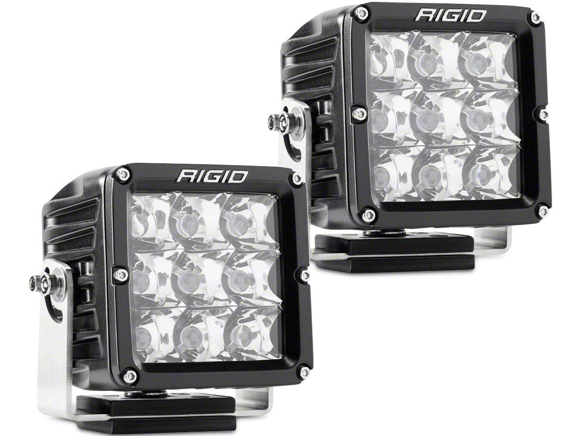 Rigid Industries Dually XL Series LED Cube Lights - Spot Beam - Pair