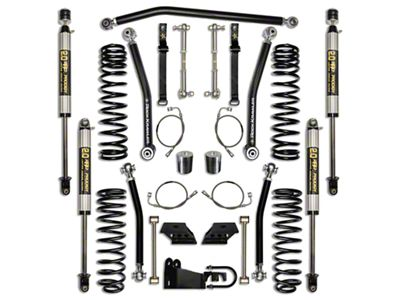 Rock Krawler 2.5 in. Max Travel Suspension Lift Kit - Stage 1 (07-18 Jeep Wrangler JK 4 Door)