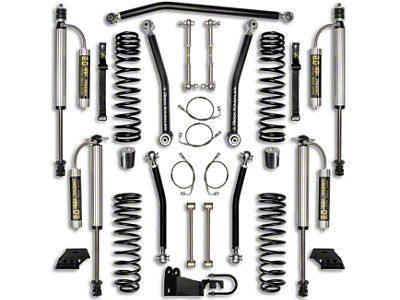 Rock Krawler 2.5 in. Max Travel Suspension Lift Kit - Stage 2 (07-18 Jeep Wrangler JK 4 Door)