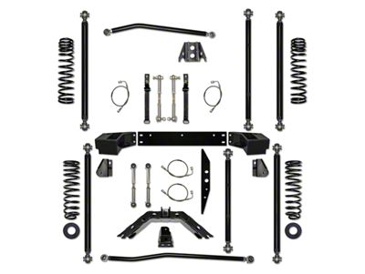 Rock Krawler 2.5 in. Off-Road Pro Long Arm Suspension Lift Kit (07-18 Jeep Wrangler JK 2 Door)
