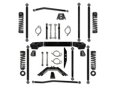 Rock Krawler 2.5 in. Off-Road Pro Long Arm Suspension Lift Kit (07-18 Jeep Wrangler JK 4 Door)