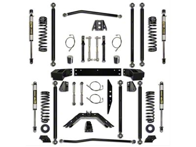 Rock Krawler 2.5 in. Off-Road Pro Long Arm Suspension Lift Kit - Stage 1 (07-18 Jeep Wrangler JK 4 Door)