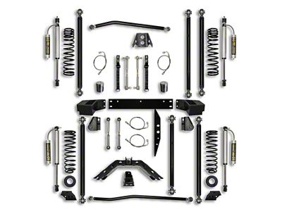 Rock Krawler 2.5 in. Off-Road Pro Long Arm Suspension Lift Kit - Stage 2 (07-18 Jeep Wrangler JK 2 Door)