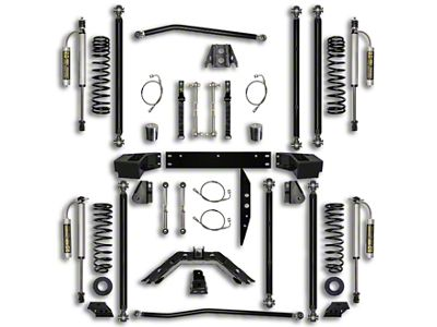 Rock Krawler 2.5 in. Off-Road Pro Long Arm Suspension Lift Kit - Stage 2 (07-18 Jeep Wrangler JK 4 Door)