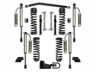 Rock Krawler 2.5 in. Stock Mod. Suspension Lift Kit - Stage 2 (07-18 Jeep Wrangler JK 2 Door)