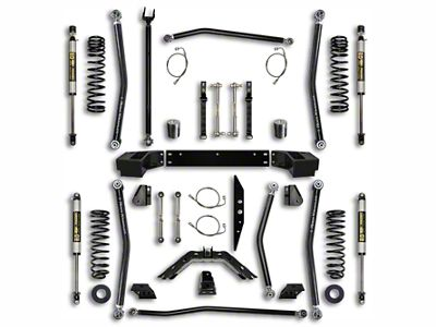 Rock Krawler 2.5 in. X-Factor Long Arm Suspension Lift Kit - Stage 1 (07-18 Jeep Wrangler JK 2 Door)