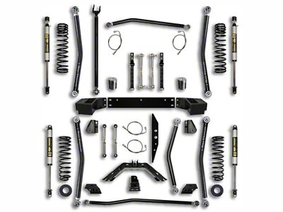Rock Krawler 2.5 in. X-Factor Long Arm Suspension Lift Kit - Stage 1 (07-18 Jeep Wrangler JK 4 Door)