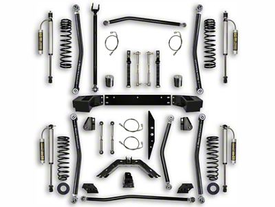 Rock Krawler 2.5 in. X-Factor Long Arm Suspension Lift Kit - Stage 2 (07-18 Jeep Wrangler JK 2 Door)
