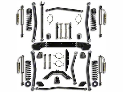 Rock Krawler 2.5 in. X-Factor Long Arm Suspension Lift Kit - Stage 2 (07-18 Jeep Wrangler JK 4 Door)