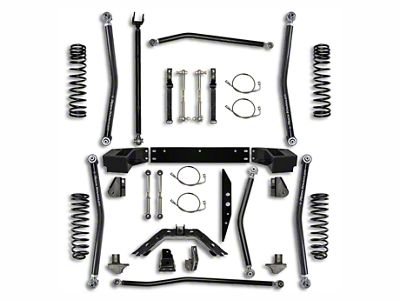 Rock Krawler 2.5 in. X-Factor Long Arm Suspension Lift Kit w/ 6 in. Stretch (07-18 Jeep Wrangler JK 2 Door)
