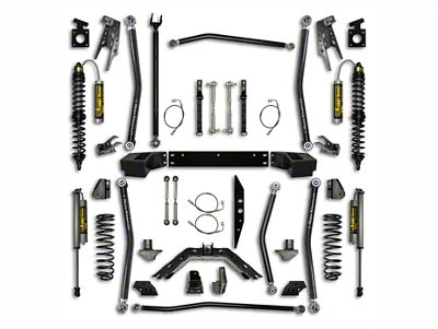 Rock Krawler 3.5 in. Coilover Long Arm Suspension Lift Kit w/ 6 in. Stretch - Stage 2 (07-18 Jeep Wrangler JK 2 Door)