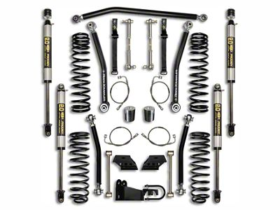 Rock Krawler 3.5 in. Max Travel Suspension Lift Kit - Stage 1 (07-18 Jeep Wrangler JK 4 Door)