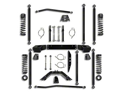 Rock Krawler 3.5 in. Off-Road Pro Long Arm Suspension Lift Kit (07-18 Jeep Wrangler JK 2 Door)