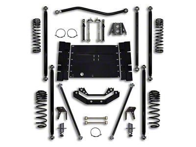 Rock Krawler 3.5 in. Off-Road Pro Long Arm Suspension Lift Kit (04-06 Jeep Wrangler TJ Unlimited)