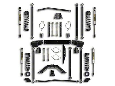 Rock Krawler 3.5 in. Off-Road Pro Long Arm Suspension Lift Kit - Stage 1 (07-18 Jeep Wrangler JK 2 Door)