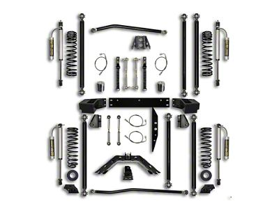 Rock Krawler 3.5 in. Off-Road Pro Long Arm Suspension Lift Kit - Stage 2 (07-18 Jeep Wrangler JK 2 Door)