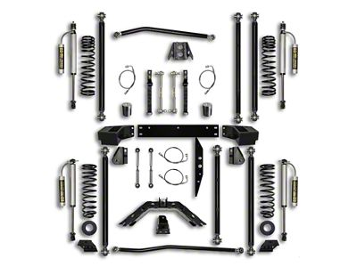 Rock Krawler 3.5 in. Off-Road Pro Long Arm Suspension Lift Kit - Stage 2 (07-18 Jeep Wrangler JK 4 Door)
