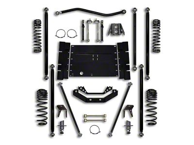 Rock Krawler 3.5 in. Off-Road Pro Long Arm Suspension Lift Kit w/ 4 in. Stretch (04-06 Jeep Wrangler TJ Unlimited)