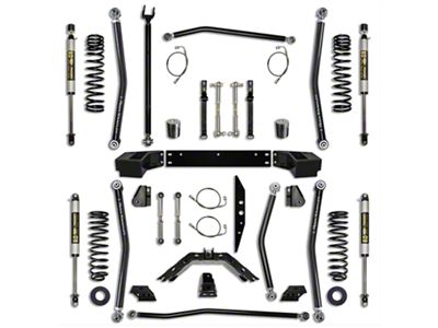 Rock Krawler 3.5 in. X-Factor Long Arm Suspension Lift Kit - Stage 1 (07-18 Jeep Wrangler JK 4 Door)