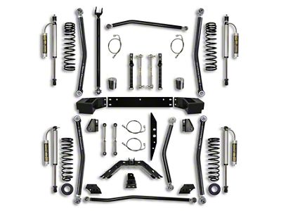Rock Krawler 3.5 in. X-Factor Long Arm Suspension Lift Kit - Stage 2 (07-18 Jeep Wrangler JK 2 Door)