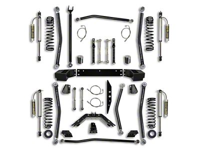 Rock Krawler 3.5 in. X-Factor Long Arm Suspension Lift Kit - Stage 2 (07-18 Jeep Wrangler JK 4 Door)