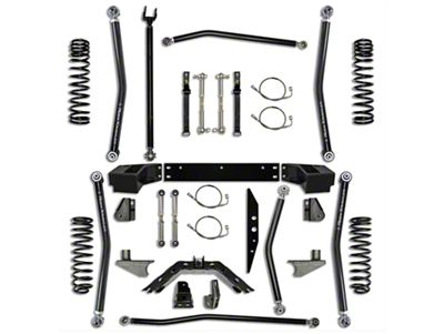 Rock Krawler 3.5 in. X-Factor Long Arm Suspension Lift Kit w/ 6 in. Stretch (07-18 Jeep Wrangler JK 4 Door)