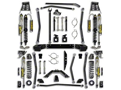 Rock Krawler 4.5 in. Trail Gunner Coilover/Bypass Long Arm Suspension Lift Kit (07-18 Jeep Wrangler JK 2 Door)
