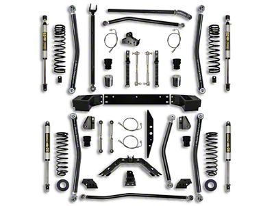 Rock Krawler 4.5 in. X-Factor Long Arm Suspension Lift Kit - Stage 1 (07-18 Jeep Wrangler JK 2 Door)