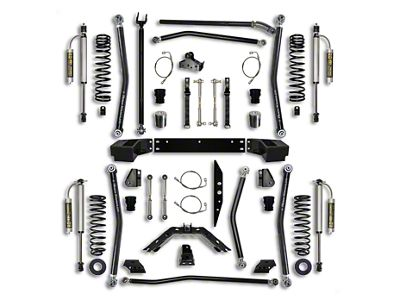 Rock Krawler 4.5 in. X-Factor Long Arm Suspension Lift Kit - Stage 2 (07-18 Jeep Wrangler JK 2 Door)