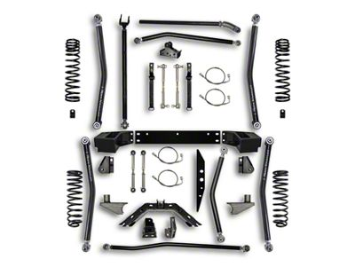 Rock Krawler 4.5 in. X-Factor Long Arm Suspension Lift Kit w/ 6 in. Stretch (07-18 Jeep Wrangler JK 2 Door)