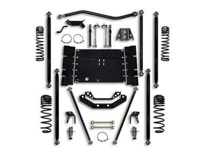 Rock Krawler 5.5 in. Off-Road Pro Long Arm Suspension Lift Kit w/ 4 in. Stretch (04-06 Jeep Wrangler TJ Unlimited)