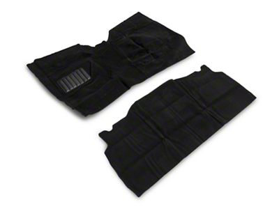 Rugged Ridge Deluxe Complete Carpet Kit - Black (87-95 Jeep Wrangler YJ)