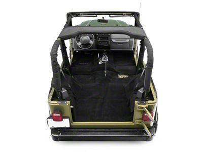 Rugged Ridge Deluxe Complete Carpet Kit - Black (97-06 Jeep Wrangler TJ)